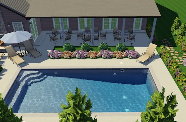 3D-Design-of-a-swimming-pool