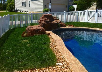 Custom Concrete Inground Swimming Pools Mo